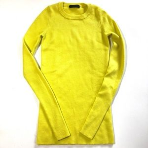 J. Crew Merino Wool Sweater Stretch Ribbed Fitted